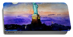 Statue Of Liberty New York Portable Battery Charger