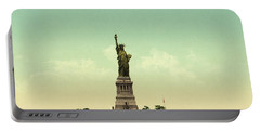 Statue Of Liberty, New York Harbor Portable Battery Charger