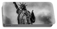 Statue Of Liberty Photograph Portable Battery Charger