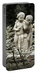 Statue Of Love Portable Battery Charger