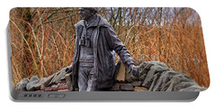 Statue Of Tom Weir Portable Battery Charger