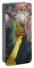 Statute Of Liberty Portable Battery Charger