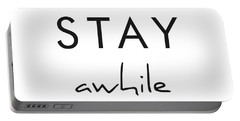 Stay Awhile Portable Battery Charger