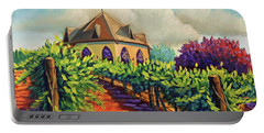 Ste Chappelle Winery Portable Battery Charger