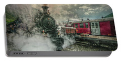 Portable Battery Charger featuring the photograph Steam Engine by Hanny Heim