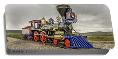 Portable Battery Charger featuring the photograph Steam Locomotive Jupiter by Sue Smith