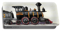 Steam Locomotive Portable Battery Charger by R Kyllo