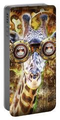 Steam Punk Giraffe Portable Battery Charger