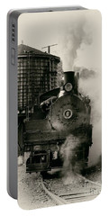 Portable Battery Charger featuring the photograph Steam Train by Jerry Fornarotto