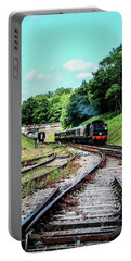 Steam Train Nr The Bridge Portable Battery Charger