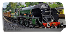 Steam Train On North York Moors Railway Portable Battery Charger