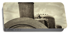 Portable Battery Charger featuring the photograph Steam Train Series No 2 by Clare Bambers
