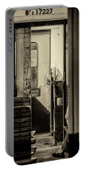 Portable Battery Charger featuring the photograph Steam Train Series No 33 by Clare Bambers