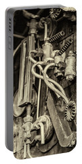 Portable Battery Charger featuring the photograph Steam Train Series No 36 by Clare Bambers
