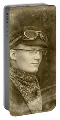 Portable Battery Charger featuring the photograph Steam Train Series No 37 by Clare Bambers