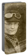 Portable Battery Charger featuring the photograph Steam Train Series No 39 by Clare Bambers