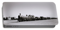 Steam Trains Portable Battery Charger by Shaun Higson
