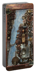 Steampunk 1 Portable Battery Charger
