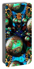 Steampunk Fractal 71216.4 Portable Battery Charger