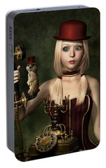 Steampunk Surprise Portable Battery Charger by Britta Glodde