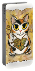 Steampunk Valentine Cat Portable Battery Charger
