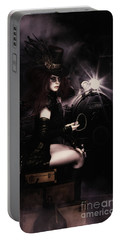 Steampunkxpress Portable Battery Charger by Shanina Conway