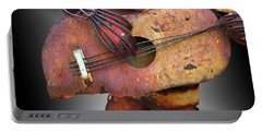 Steel Guitar - Or - Too Many Fingers And Not Enough Strings Portable Battery Charger