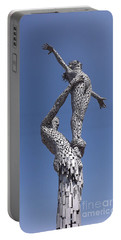 Steel People Portable Battery Charger