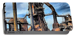 Steel Stacks Bethlehem Pa. Portable Battery Charger