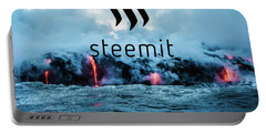 Steemit Heats Up Portable Battery Charger