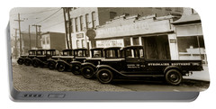 Stegmaier Brothers Inc Beer Trucks At 693 Hazle Ave Wilkes Barre Pa 1930s Portable Battery Charger