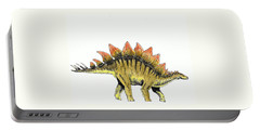 Stegosaurus Portable Battery Charger