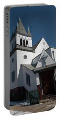 Steinwy Reformed Church Steinway Reformed Church Astoria, N.y. Portable Battery Charger