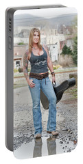 Stephanie Guitar Standing 1 Portable Battery Charger