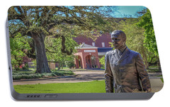 Portable Battery Charger featuring the photograph Stephens, Oaks And Walk Of Honor by Gregory Daley  PPSA