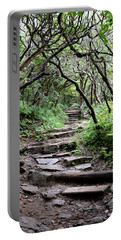 Steps Into The Enchanted Forest Portable Battery Charger