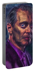 Steve Buscemi Actor Painted Portable Battery Charger