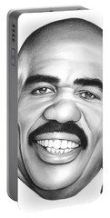 Steve Harvey Portable Battery Charger by Greg Joens