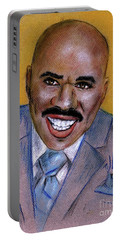 Steve Harvey Portable Battery Charger by P J Lewis