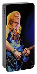 Steve Morse Painting Portable Battery Charger by Paul Meijering