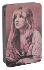 Stevie Nicks  Portable Battery Charger by Donna Wilson