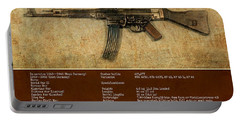 Portable Battery Charger featuring the digital art Stg 44 Sturmgewehr 44 by John Wills