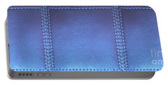 Stiched Leather Look Blue Abstract Wall Decorations By Navinjoshi At Fineartamerica.com Download Jpg Portable Battery Charger