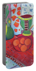 Still Life After Matisse Portable Battery Charger