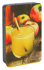 Still Life Apple Cider Beverage Portable Battery Charger by Jorgo Photography - Wall Art Gallery
