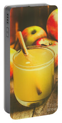 Still Life Apple Cider Beverage Portable Battery Charger