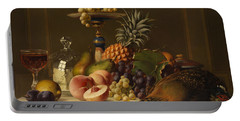 Still Life Portable Battery Charger by Johann Wilhelm Preyer