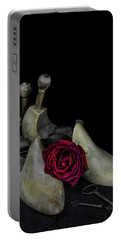 Still Life With Transitories Portable Battery Charger by Ronda Broatch