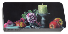 Still Life With Candle Portable Battery Charger