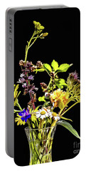 Still Life With Flowers Paint Portable Battery Charger